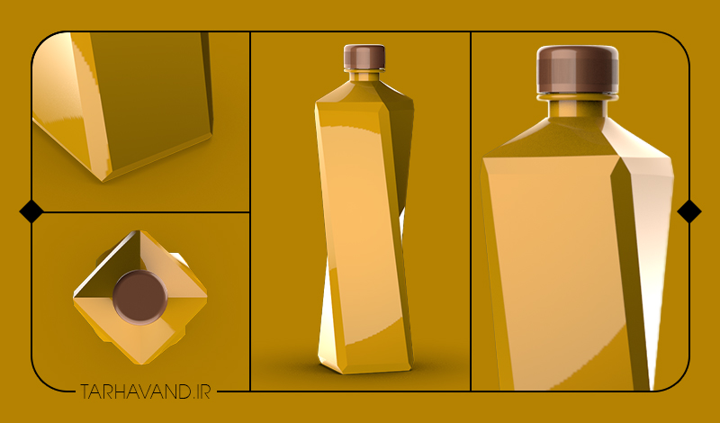 طرح بطری ماردون یک لیتری