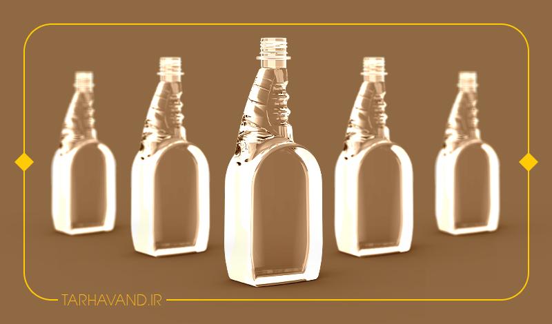 طرح بطری افشانه ۷۵۰ سی سی