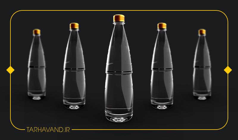 طرح بطری خدنگ یک و نیم لیتری